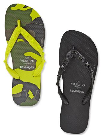 Valentino x Havaianas Flip Flops