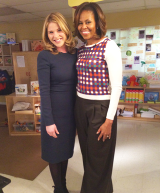 Jenna Bush Hager and Michelle Obama