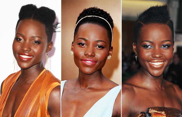 Lupita Nyong'O Hair - Oscars 2014