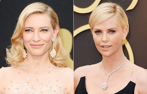 Cate Blanchett and Charlize Theron