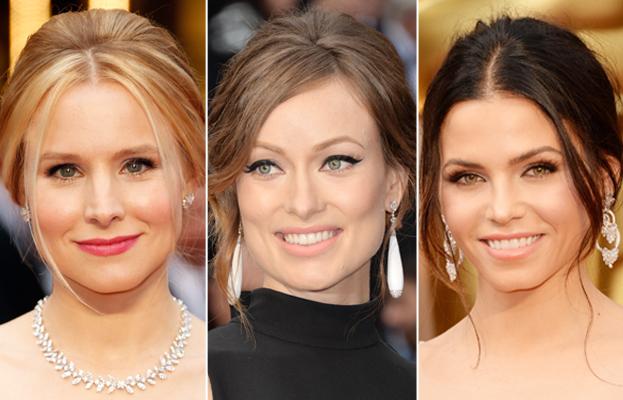 Kristen Bell - Olivia Wilde - Jenna Dewan Tatum - Oscars 2014 Hair