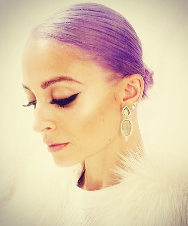 Nicole Richie Purple Hair - New Fragrance