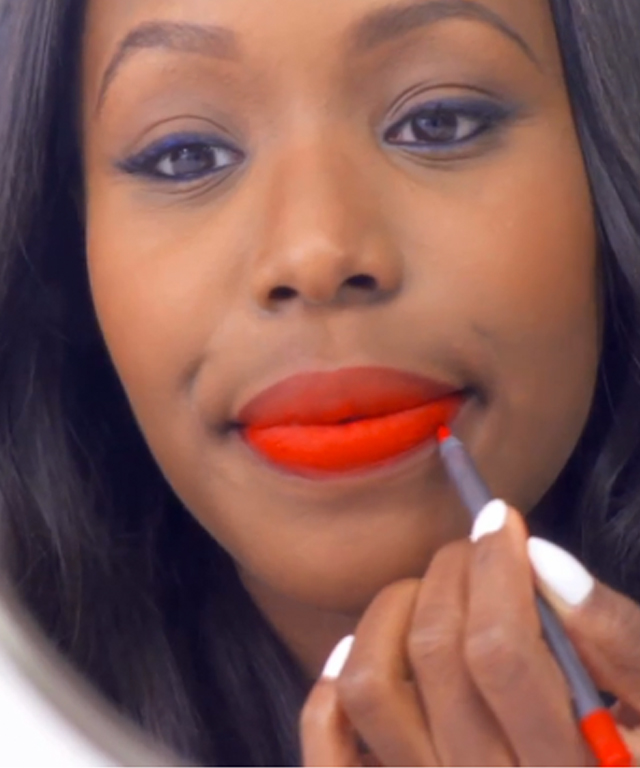 Orange Lip InStyle