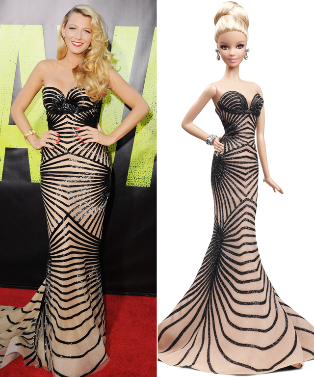 Blake Lively and Zuhair Murad Barbie Doll