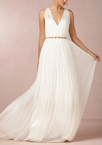 Bhldn 10 affordable wedding gowns under 1 000 for Best wedding dresses under 1000