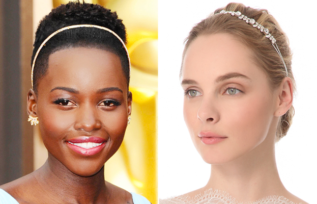 Lupita Nyong'o, wedding headbands