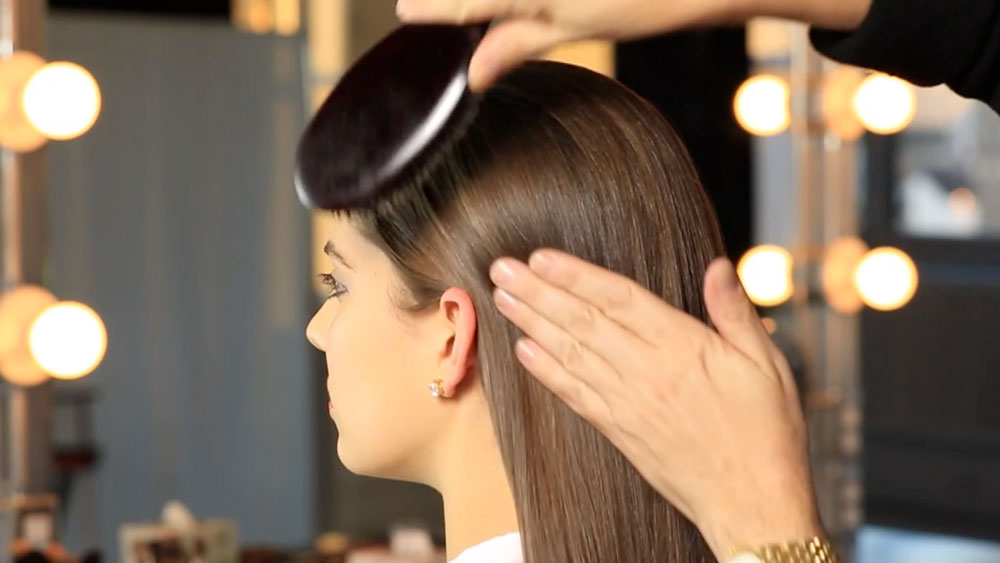 Sleek Hair How-To