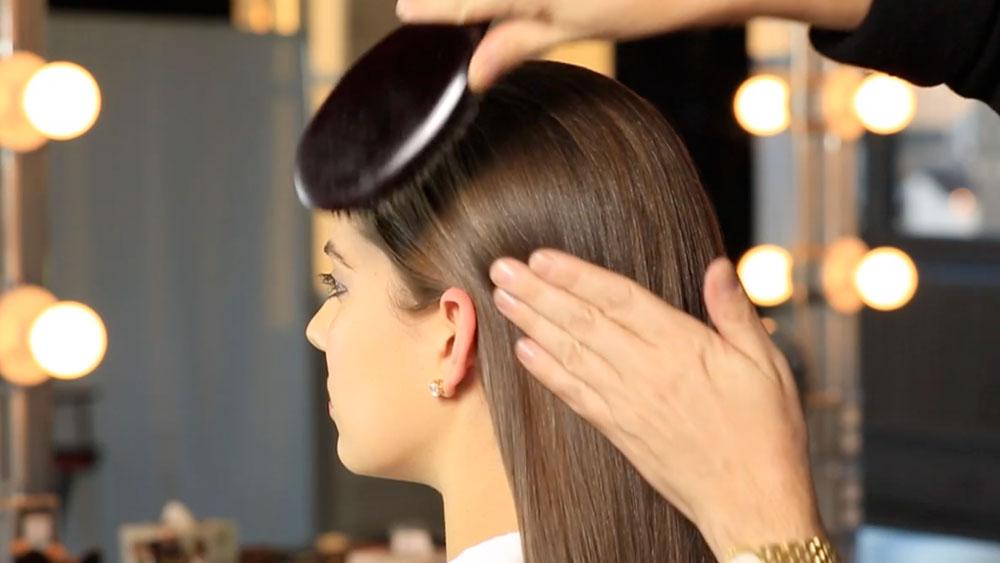 Sleek Hair How-To