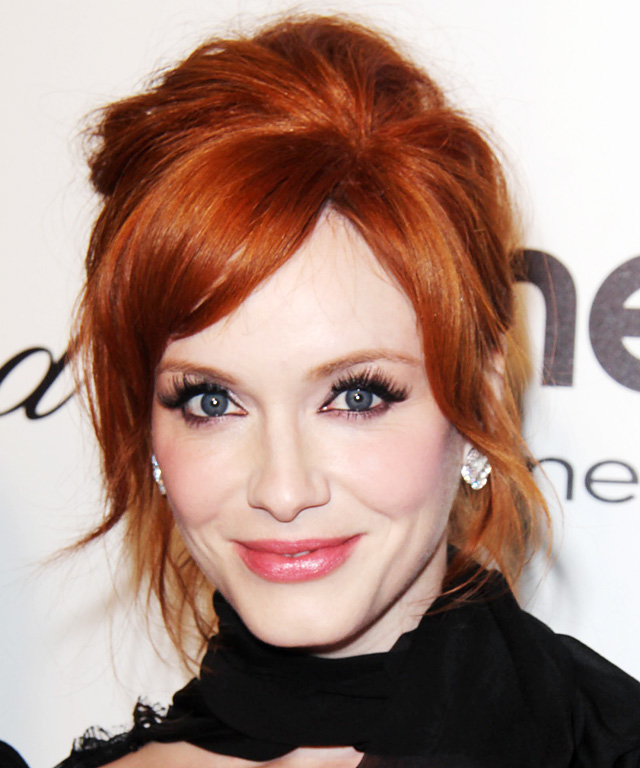 christina hendricks blush makeup forever