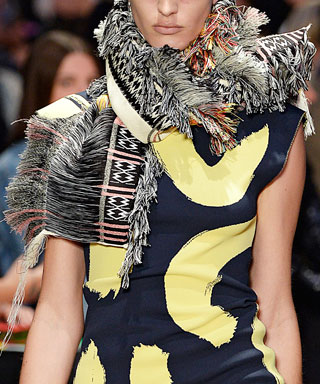 How-To Scarf: Celine GIF