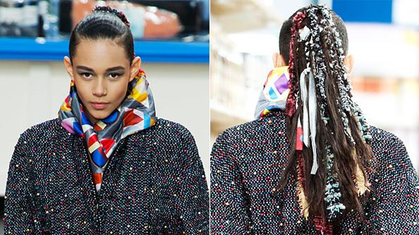 Chanel Paris Fashion Week Hair - Ponytails - Divergent
