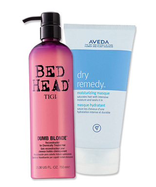 Tigi Dumb Blonde - Aveda Dry Remedy