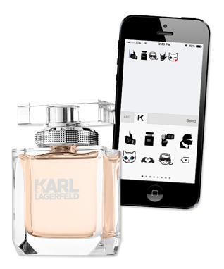 Karl Lagerfeld Emoticon App