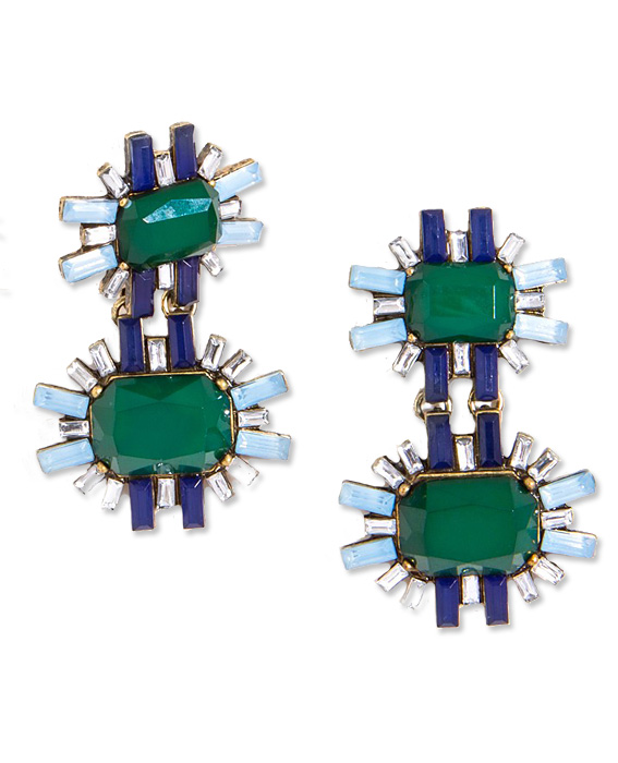 St. Patty's Day Jewelry: BaubleBar Earrings