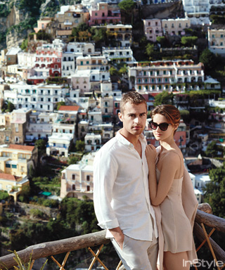 Shailene Woodley and Theo James Feature