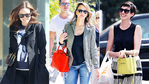 Celebrities and their handbags