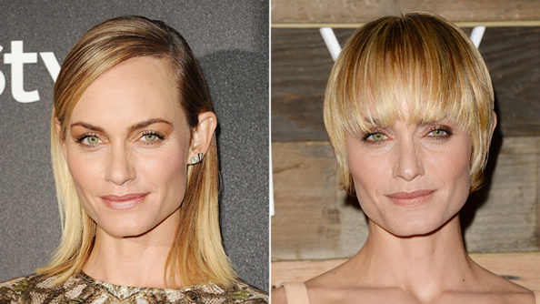 Amber Valletta Haircut