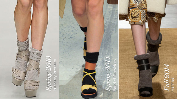 Sock-and-Sandal Combos