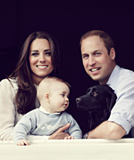 Prince George Kate Middleton