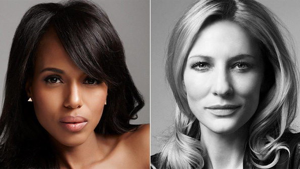 Kerry Washington and Cate Blanchett