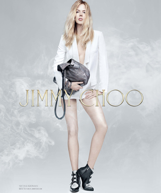 Nicole Kidman Looks Smokin' in Her New Jimmy Choo Ad