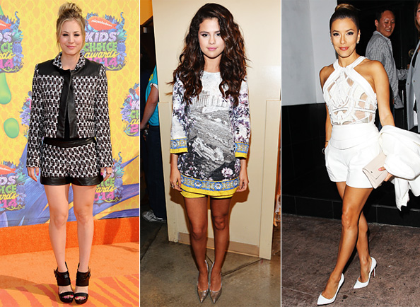 Red Carpet Trend: Shorts