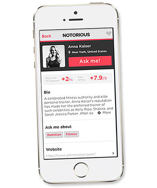 Notorious App - App to Download