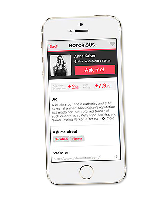 Notorious App - App to Download