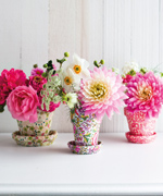 Liberty Print Flower Pots