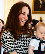 Kate Middleton in Tory Burch