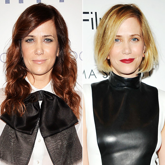 Kristen Wiig - Blonde Hair - New Hair 2014