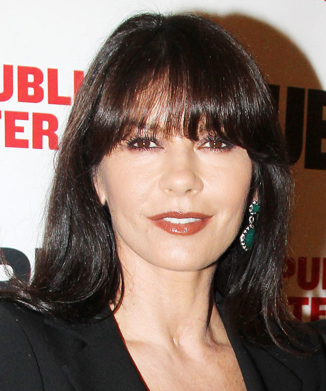 Catherine Zeta-Jones Hair - Bangs