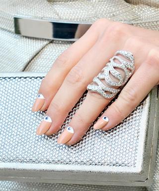 Emmy Rossum Nail Art