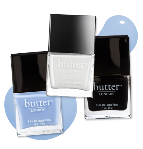 Emmy Rossum Nail Art - Butter London