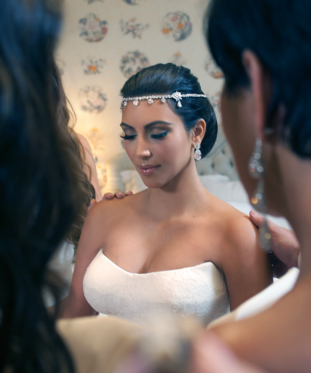 Kim Kardashian West Wedding Hair amp Makeup Tutorial rebellemakeup