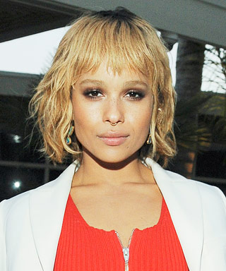Zoe Kravitz Blonde Hair