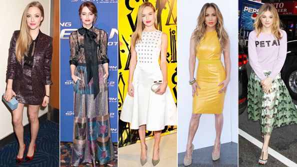 Amanda Seyfried, Emma Stone, Kate Bosworth, Jennifer Lopez, Chloe Grace Moretz