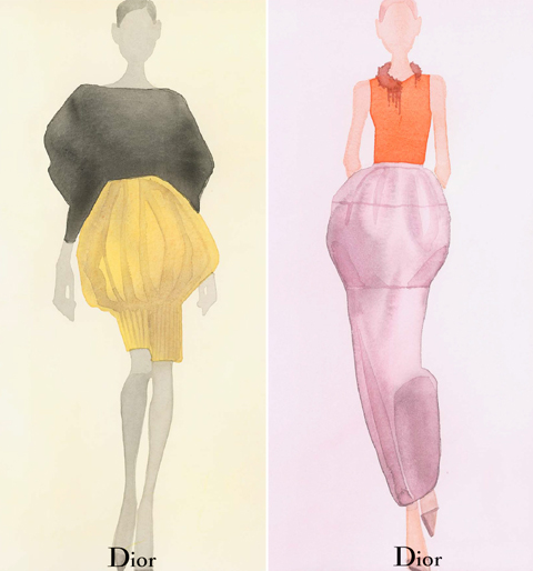 Mats Gustafson Christian Dior Watercolors