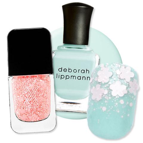 Cherry Blossom Manicure