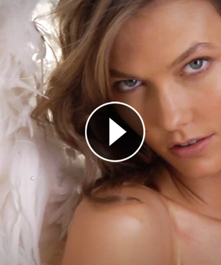 Exclusive! Karlie Kloss Looks Heavenly In Her Latest Campaign for Victoria's Secret