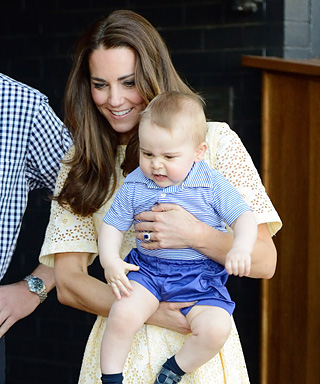 Prince George, Kate Middleton