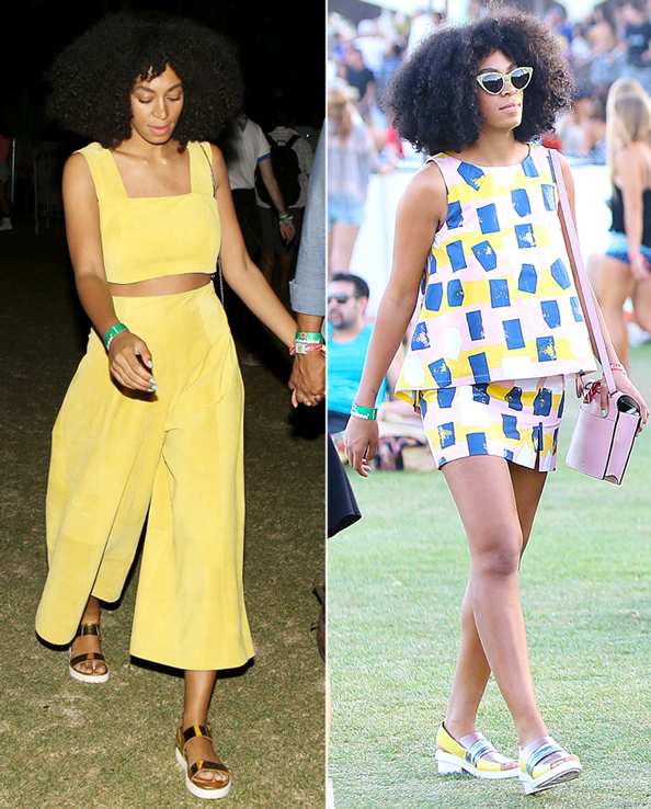 Solange Knowles at 2014 Coachella