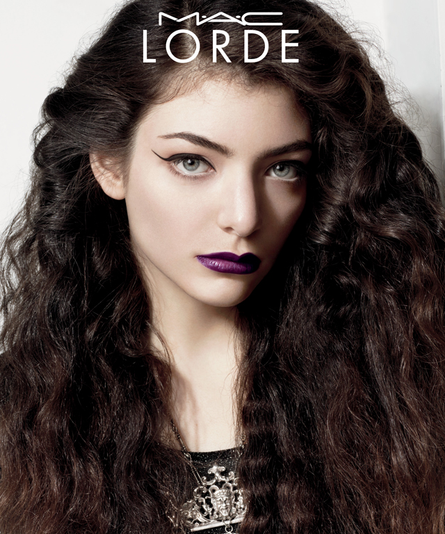 Lorde Makeup - Lorde for MAC