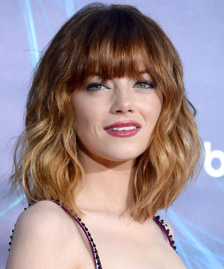Emma Stone Haircut - Bangs - Ombre