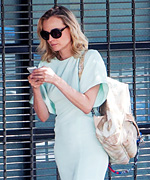 Diane Kruger Chanel Backpack