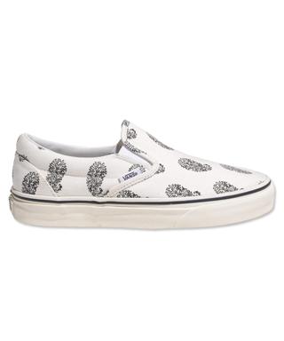 Vans x Madewell Paisley Slip-Ons