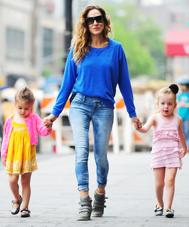 SJP's Twin Daughters