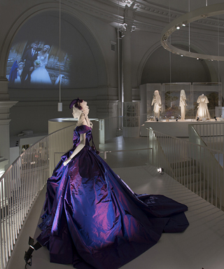 V&A Museum Bridal Exhibit