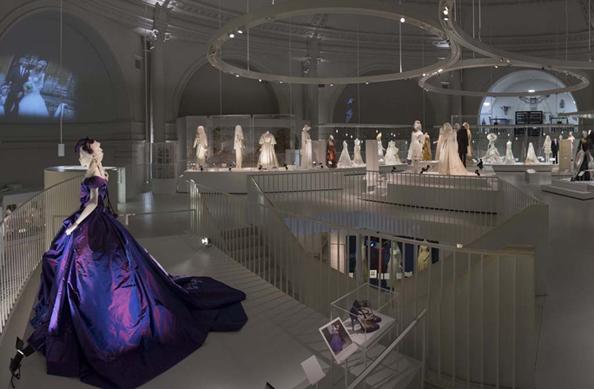 V&A Museum Bridal Exhibit