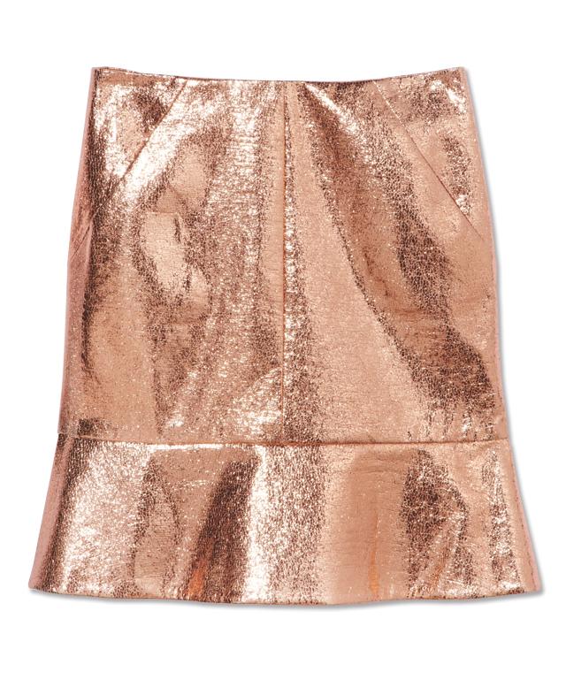 spring metallics, fashion trends